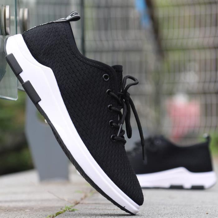 de air course en chaussures de collectrices occasionnels Chaussures plein hommes pour hommes Basket espadrilles respirant sport xqHn6FY