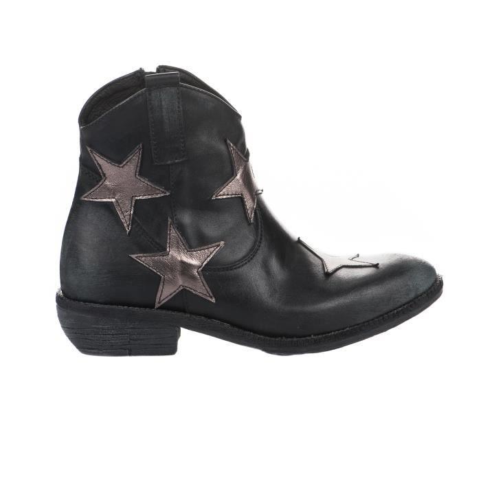 Boots femme - MIGLIO - Noir - P102 - Millim BB4HoLQX