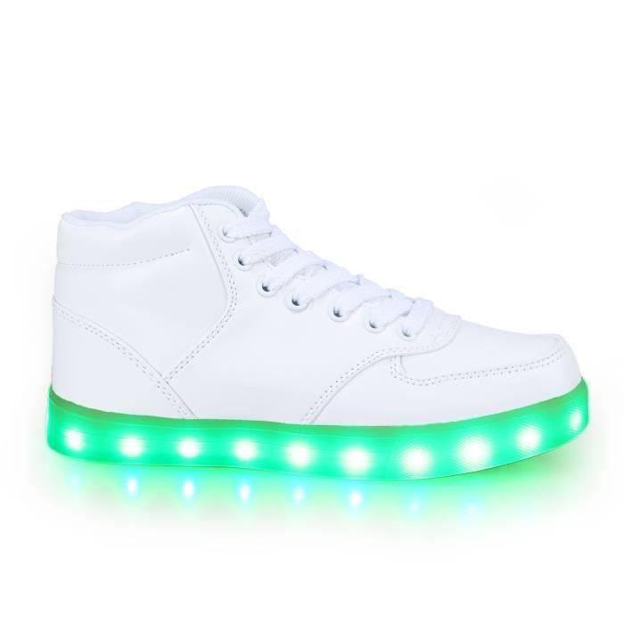 LED 7 USB Charge Homme Lumineux Couleur Lumière WWZqIOC