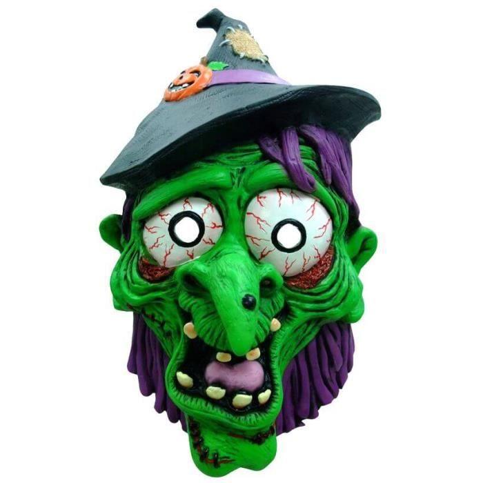 masque halloween adulte sorciere achat vente jeux et. Black Bedroom Furniture Sets. Home Design Ideas