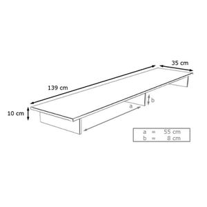 meuble tv chene clair achat vente meuble tv chene clair pas cher cdiscount. Black Bedroom Furniture Sets. Home Design Ideas