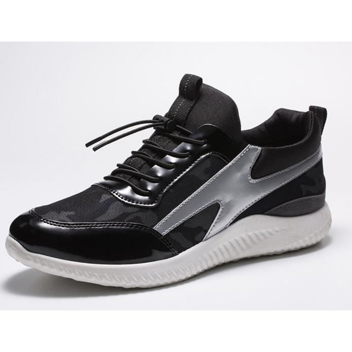 Hommes chaussures Sport ModeHommes Casual Appartements Respirant Actif Chaussures Pour Hommes