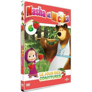 DVD DESSIN ANIMÉ DVD Masha et Michka : le jour des confitures
