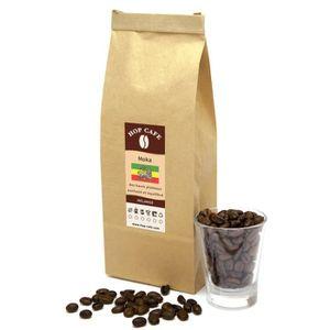 CAFÉ - CHICORÉE Café en grains – Mélange Moka d'Éthiopie – 500g