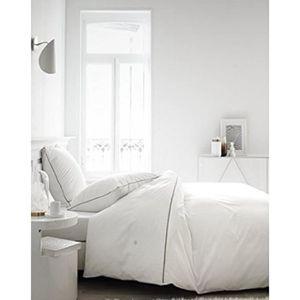 HOUSSE DE COUETTE SEULE Housse de Couette Percale 220x240 Leonie Chantilly