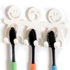 PORTE SECHE-CHEVEUX Titulaire brosse à dents serviette Support ventous