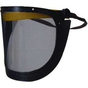 LUNETTE - VISIÈRE CHANTIER JARDIN PRATIQUE Visière de protection grillagée re