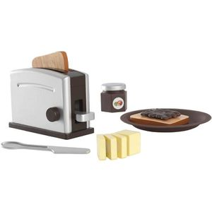DINETTE - CUISINE KIDKRAFT Set Grille-Pain - Espresso - En bois