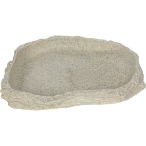 BASSIN POUR ANIMAL Bassin mangeoire pour tortues ou reptiles Stone Ag