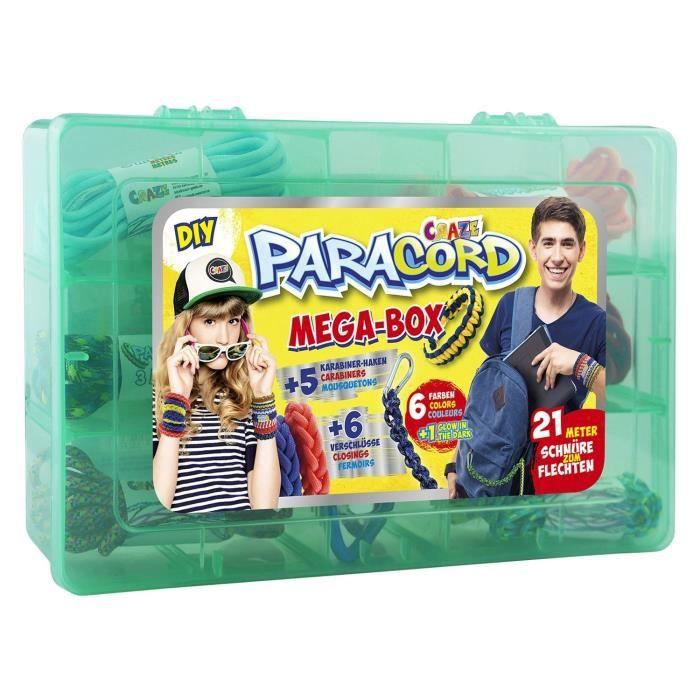 PARACORDS Mega-Box - Création d'accessoires