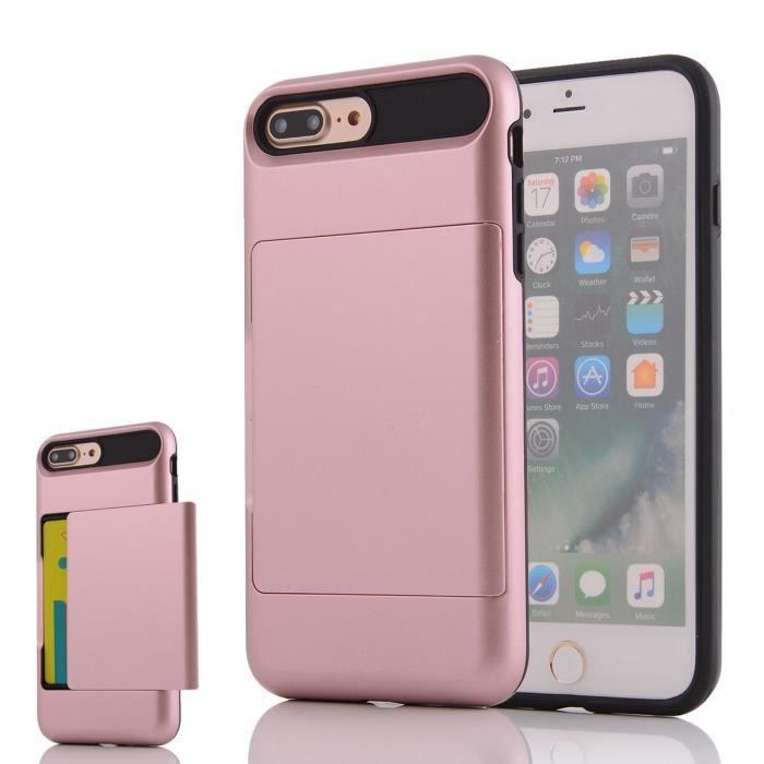coque iphone 7 or rose