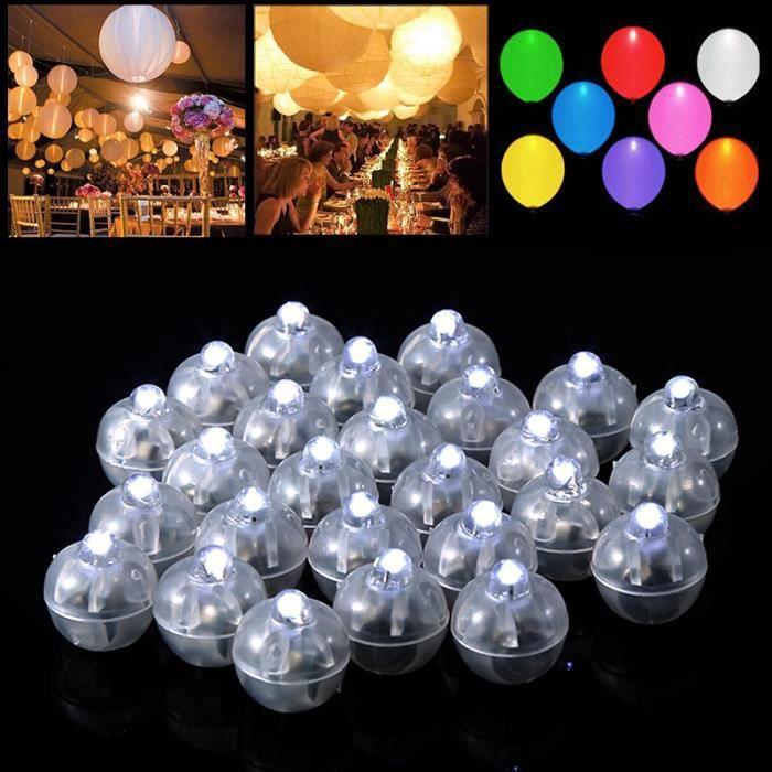 De Soirée 50 Cérémonie Déco Saint Ronde Ballons Mariage Club Lampes Sphérique Led Blanc Fête Anniversaire Valentin Noël Lot Pour nPX8Ok0w