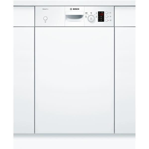 détaillant en ligne d1206 32812 BOSCH SPI25CW03E - Lave vaisselle encastrable - 9 couverts - 46 dB - A+ - L  45 cm - Bandeau blanc