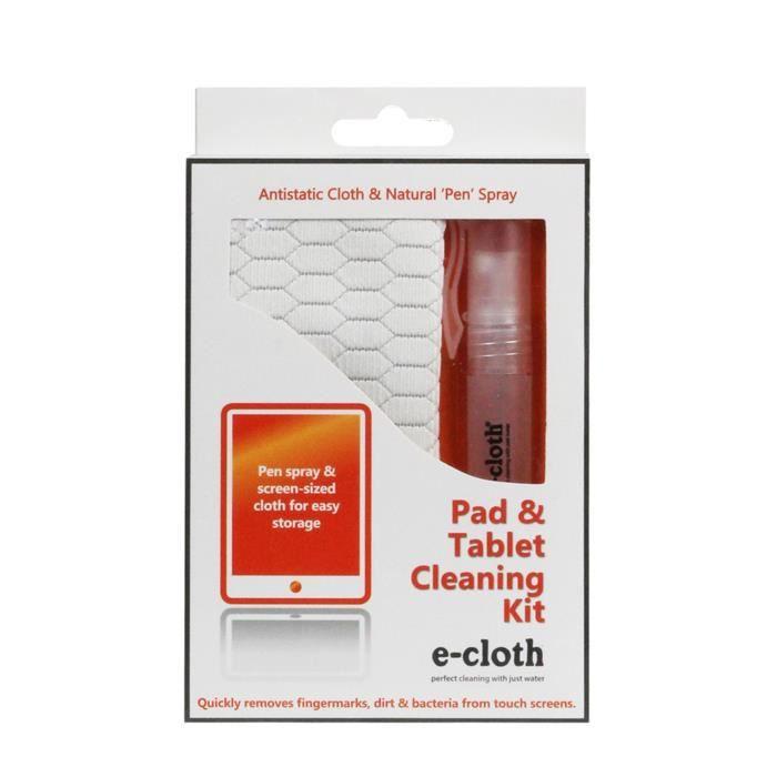 E-CLOTH Kit de nettoyage tout écran - 24x17cm