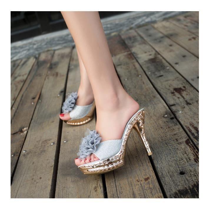 nouvelles femmes sandales et pantoufles boîte s...