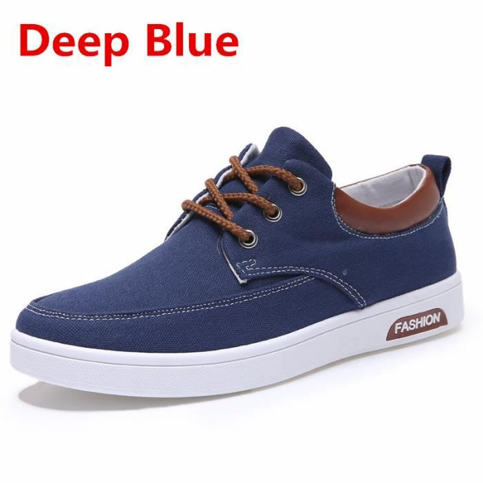 Homme Homme blue Homme Baskets Deep Chaussures Homme Chaussures Baskets xwvqUF6pF