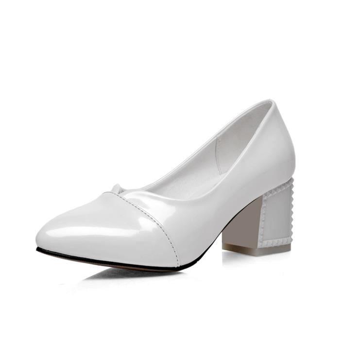 Chaussure Femmes Nouvelle Raffinement De Mode Couleurs Vives Solides Club Mariage Soiree