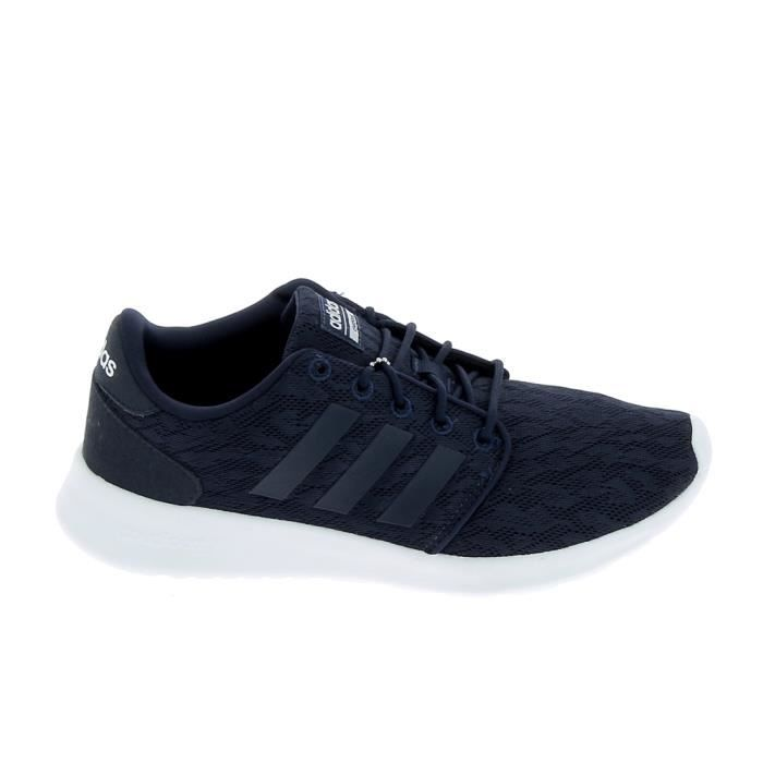 competitive price 0c54c fdd2e Basket -mode - Sneakers ADIDAS Cloudfoam QT Racer TR F Marine