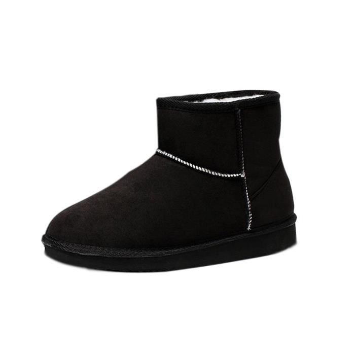 Tomwell Femme Hiver Chaudes Bottines Classic Mini Chaud Chaussures Flats Snow Boots Footwear