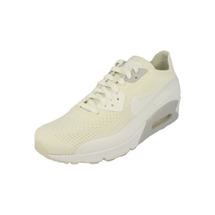 Soldes Nike Air Max 90 Ultra 2.0 Flyknit Trainers Blanc