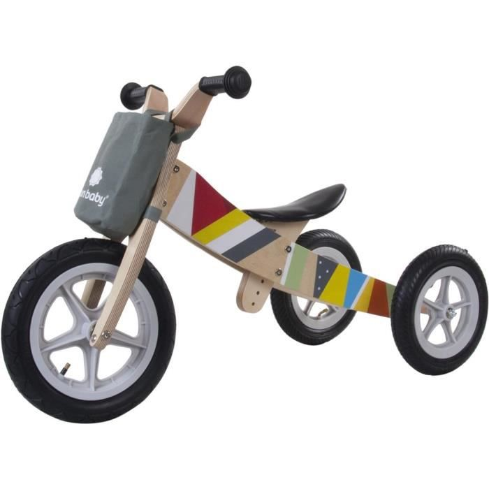 tricycle en bois achat vente jeux et jouets pas chers. Black Bedroom Furniture Sets. Home Design Ideas