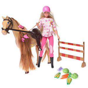 Chevaux ecurie achat vente jeux et jouets pas chers - Jeux de barbie avec son cheval ...