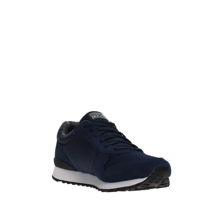 SKECHERS Sneakers Homme NAVY/GRAY, 43