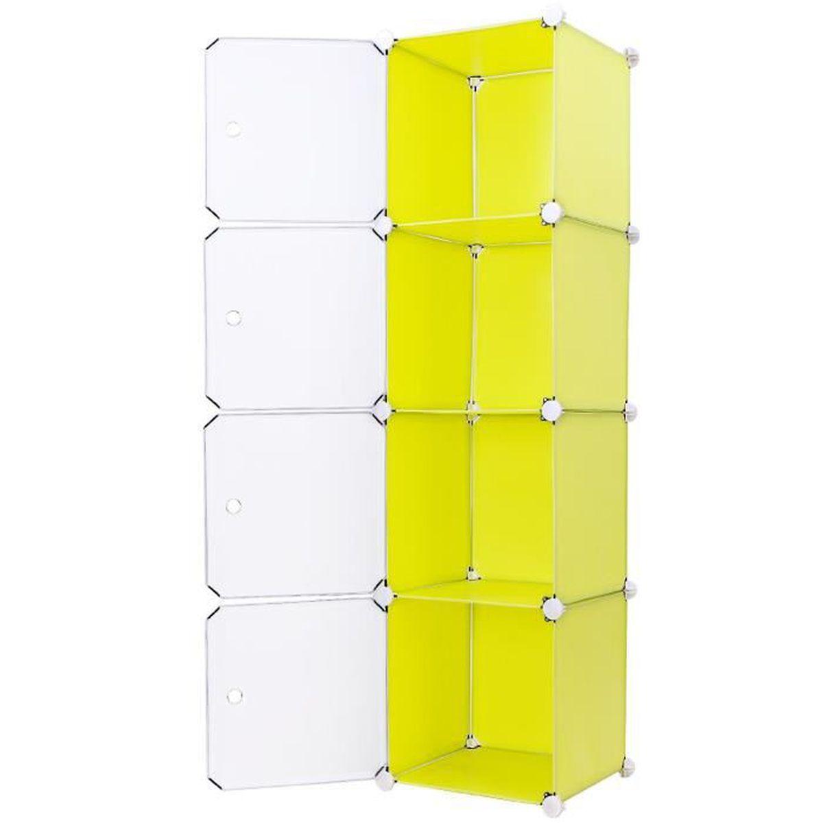 diy armoire penderie cubes etag re modulables plastiques. Black Bedroom Furniture Sets. Home Design Ideas