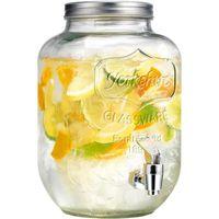 fontaine distributeur boisson en verre 4 litres avec robinet achat vente fontaine a. Black Bedroom Furniture Sets. Home Design Ideas