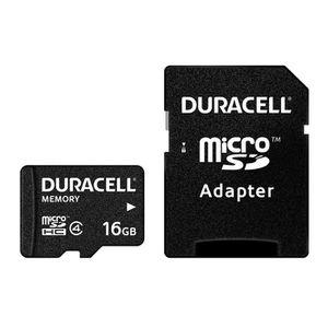 DURACELL Carte Micro SD 16GB Class 4 + Adaptateur