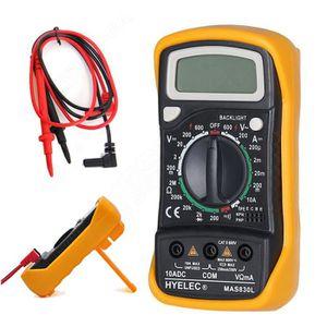 MULTIMÈTRE Portable LCD Numérique Voltmètre Ampèremètre Ohmmè
