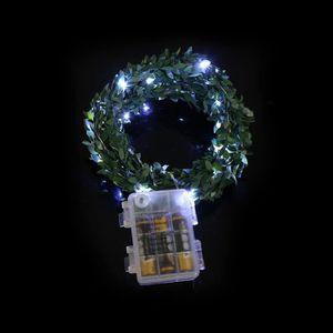 LAMPE A POSER 50 LED de batterie Boîte de cuivre lampe de fil va