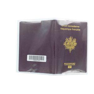PORTE PAPIERS Lot de 10 étui housse de protection passeport