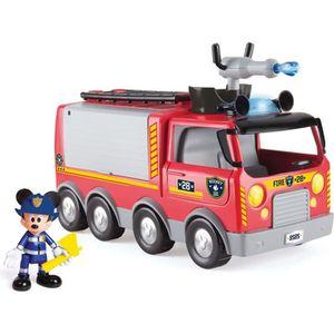 CAMION ENFANT MICKEY Camion de pompier avec fonction IMT