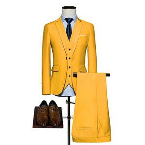 d7f9ec037576bb COSTUME - TAILLEUR Hommes Costume de Mariage 3 pièces Mode Costume Fo ...