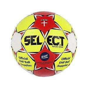 12c4bb2710 BALLON DE HANDBALL Maxi Grip Handball, unisexe, Grip Maxi, Gelb - rot
