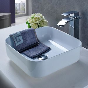LAVABO - VASQUE OBEEONR® Lavabo Vasque à poser en forme de carré e