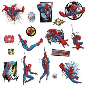AFFICHE - POSTER Stickers Avengers repositionnables Spider-man Marv