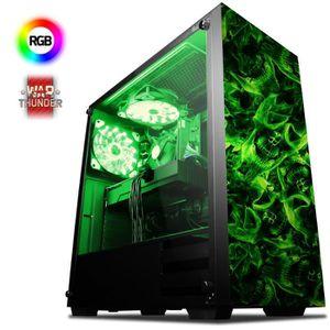 UNITÉ CENTRALE  VIBOX Power-FX 9 PC Gamer Ordinateur avec War Thun