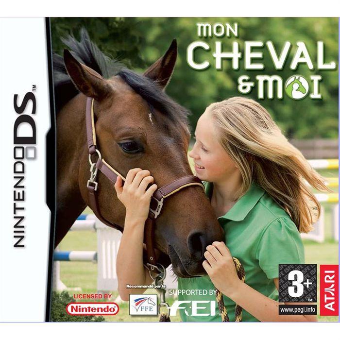 mon cheval et moi jeu console nintendo ds achat vente jeu ds dsi mon cheval et moi. Black Bedroom Furniture Sets. Home Design Ideas