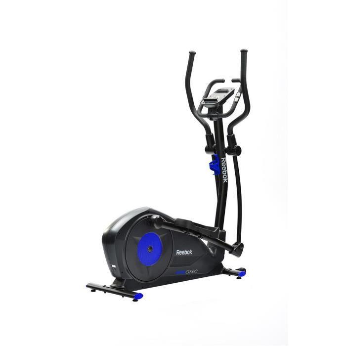 Reebok Vélo Elliptique GX60 One Series Cross Trainer- 20 programmes- 7 kg d'inertie-résistance magnétique