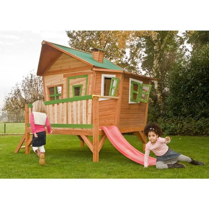 Cabane enfant bois emma x x m achat for Kuchenzeile 3 40 m
