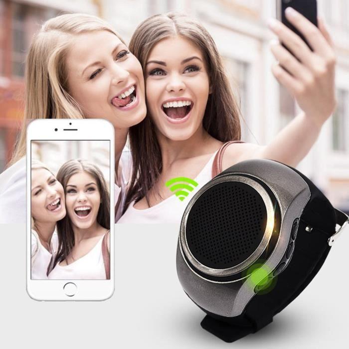 ENCEINTE NOMADE B20 Bluetooth mouvement montre musique Portable Mi