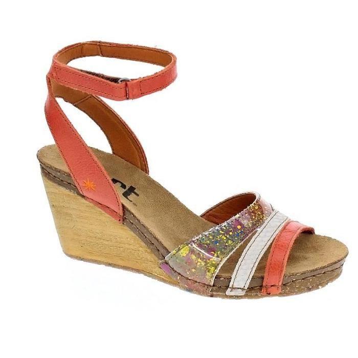 Company Femme Art Modèle Orange Chaussures Sandales Valby Uw5PxpRq