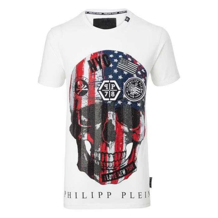 T Shirt Phillipe Plein Homme - - vinny.oleo-vegetal.info 2cd130815776