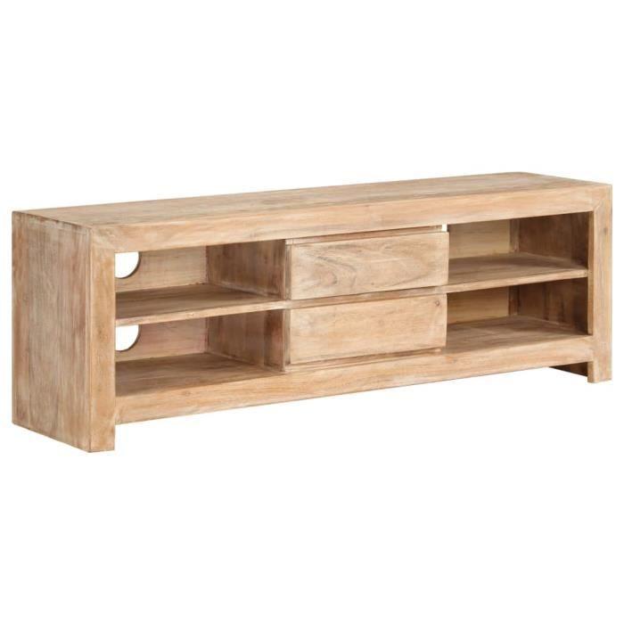 Meuble salon bois clair contemporain - Achat / Vente pas cher