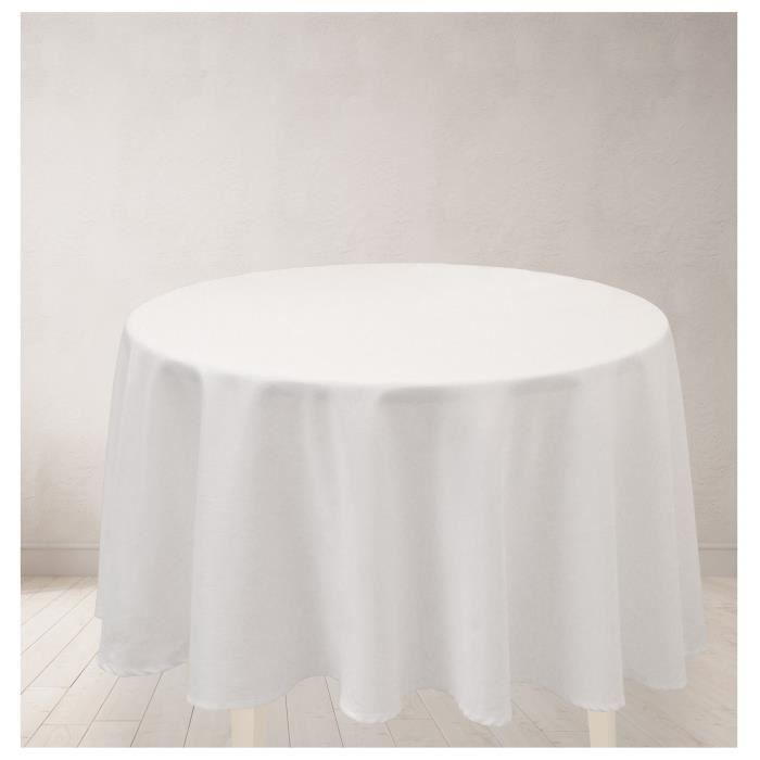 nappe pour table ronde achat vente pas cher. Black Bedroom Furniture Sets. Home Design Ideas