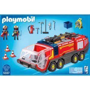 playmobil city action les pompiers achat vente. Black Bedroom Furniture Sets. Home Design Ideas
