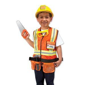 MELISSA & DOUG Costume De Travailleur De La Construction