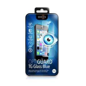 QDOS Protection-écran intégrale en verre trempé Qdos pour iPhone 6 - Bleu